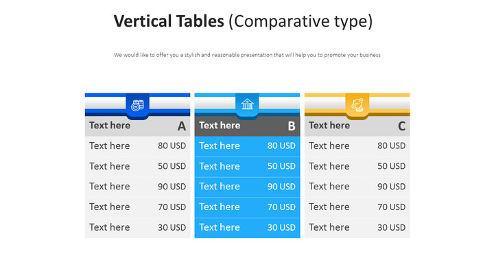 Vertical Tables Diagram (Comparative type)_01