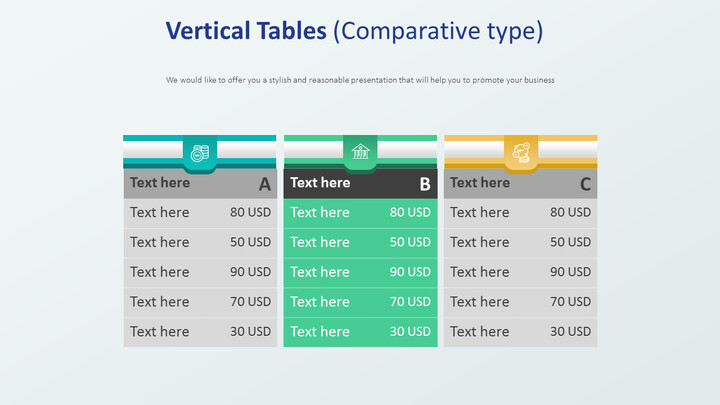 Vertical Tables Diagram (Comparative type)_02