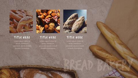 빵 테마 프레젠테이션 템플릿_19