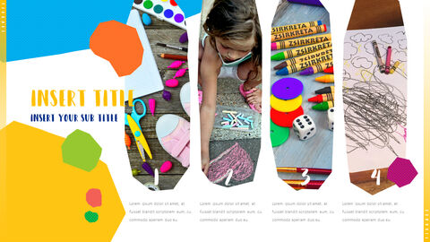 Kid & Art PowerPoint Templates for Presentation_04