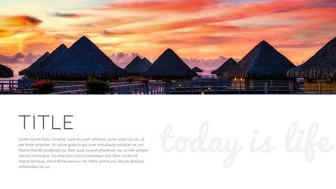 Romantico Resort PowerPoint Templates Design_03