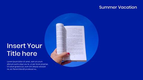 여름 방학 프레젠테이션용 PowerPoint 템플릿_09