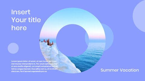 여름 방학 프레젠테이션용 PowerPoint 템플릿_33