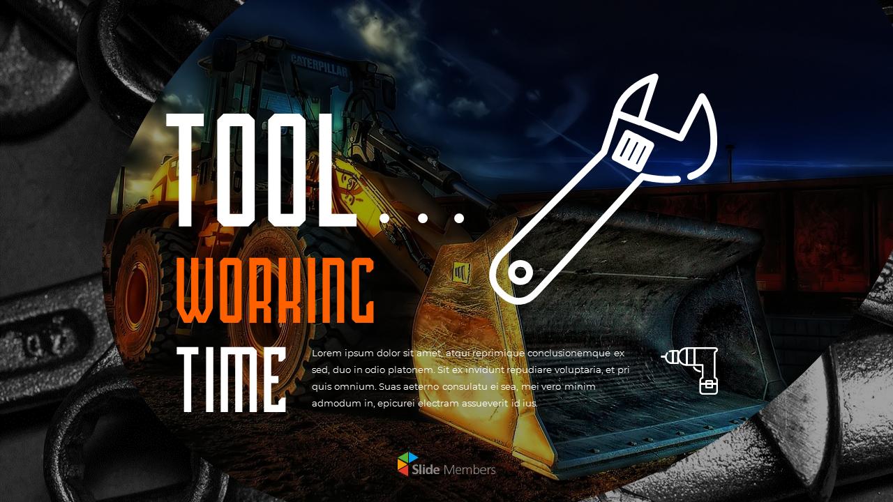 Tools Theme Presentation Templates