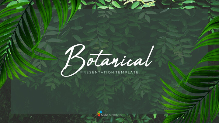 Botanical PowerPoint Templates for Presentation_01