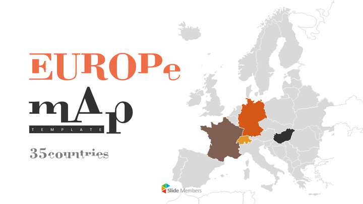 Europe Map (35countries) Presentation_01