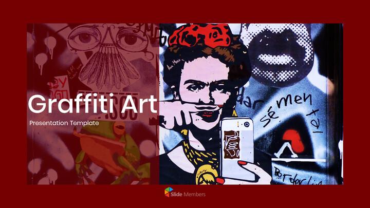 Graffiti Art Theme PPT Templates_01