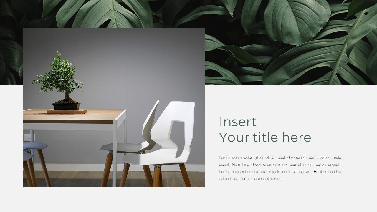 Interior Design Theme Ppt Templates