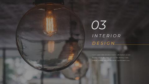 인테리어 디자인 테마 PPT 템플릿_25