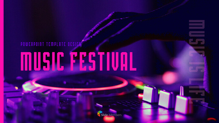 Music Festival PowerPoint Templates Design_01