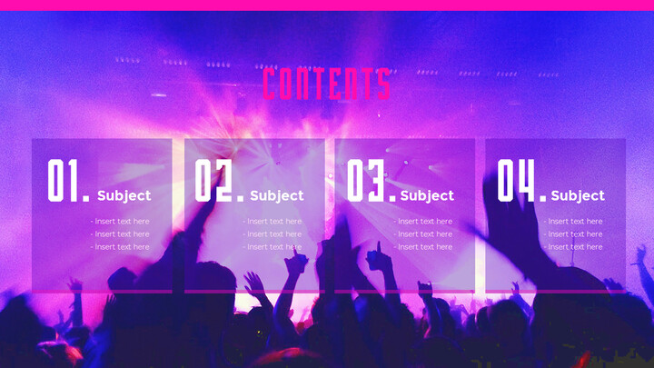 Music Festival PowerPoint Templates Design_02