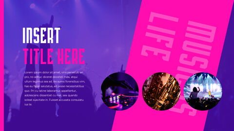 Music Festival PowerPoint Templates Design_03