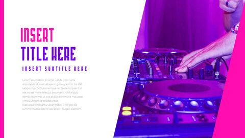 음악 축제 PowerPoint 템플릿 디자인_09