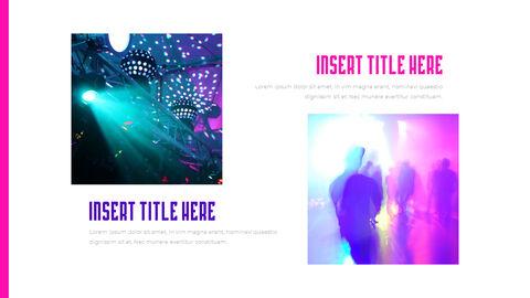 음악 축제 PowerPoint 템플릿 디자인_11