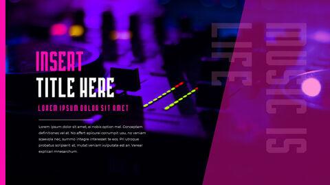 음악 축제 PowerPoint 템플릿 디자인_15