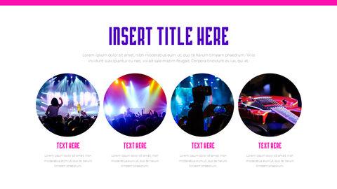 음악 축제 PowerPoint 템플릿 디자인_25