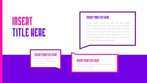 음악 축제 PowerPoint 템플릿 디자인_33