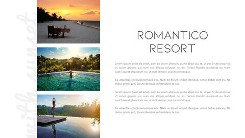 Romantico Resort PowerPoint Templates Design_17