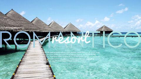 Romantico Resort PowerPoint Templates Design_26