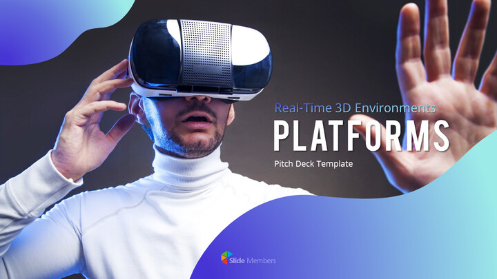 3D 플랫폼 피치덱 파워포인트 프레젠테이션_01