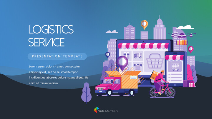 Logistics Service PowerPoint Templates_01