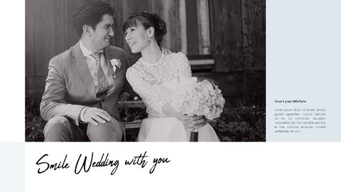 Lovely Wedding PowerPoint Templates for Presentation_02