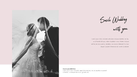 Lovely Wedding PowerPoint Templates for Presentation_04