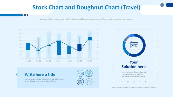 Stock Chart and Doughnut Chart (Travel)_02