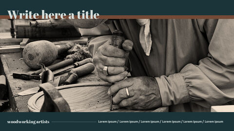 Wood Craft PowerPoint Templates_05