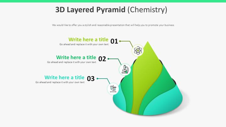 3D 계층화 된 피라미드 다이어그램 (화학)_01
