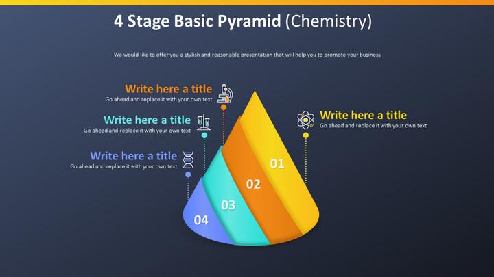 4 Stage Basic Pyramid Diagram (Chemistry)_02