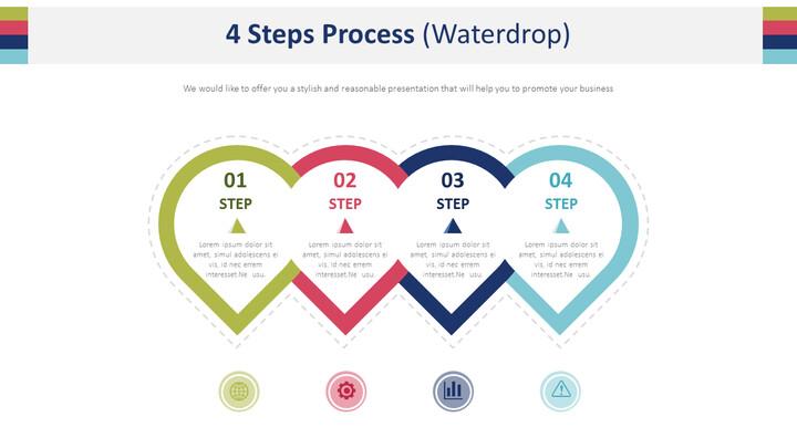 4 단계 공정 다이어그램 (물방울)_01