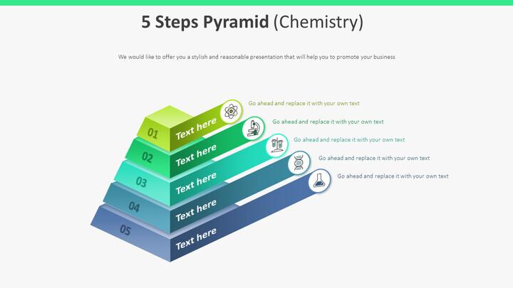 5 단계 피라미드 다이어그램 (화학)_01
