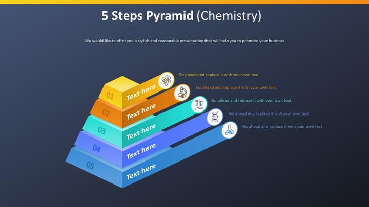 5 단계 피라미드 다이어그램 (화학)_02