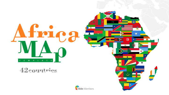 Africa Map (42countries) Presentation_01
