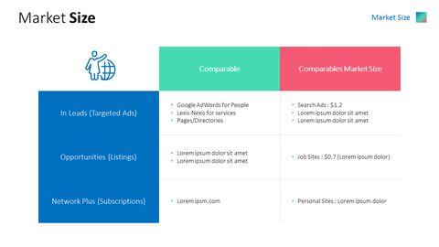 비즈니스 소셜 네트워크 피치덱 파워포인트 프레젠테이션_04