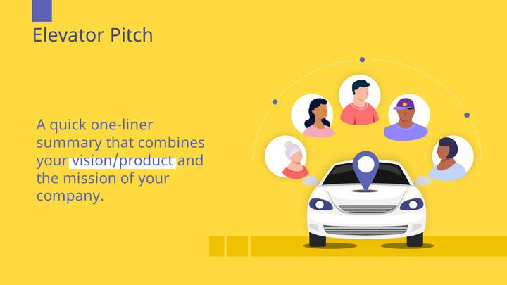 자동차 공유 서비스 PowerPoint 프레젠테이션 템플릿_02