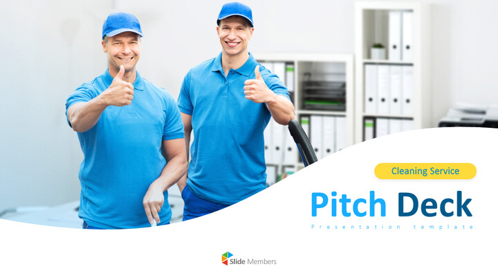 청소 서비스 PPT 프레젠테이션_01