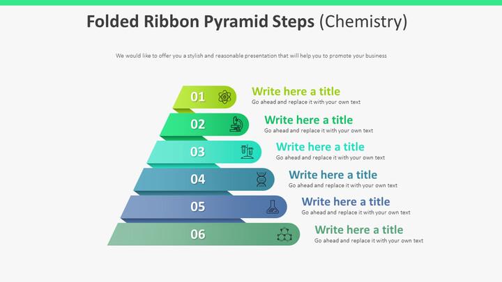 접힌 리본 피라미드 계단 다이어그램 (화학)_01