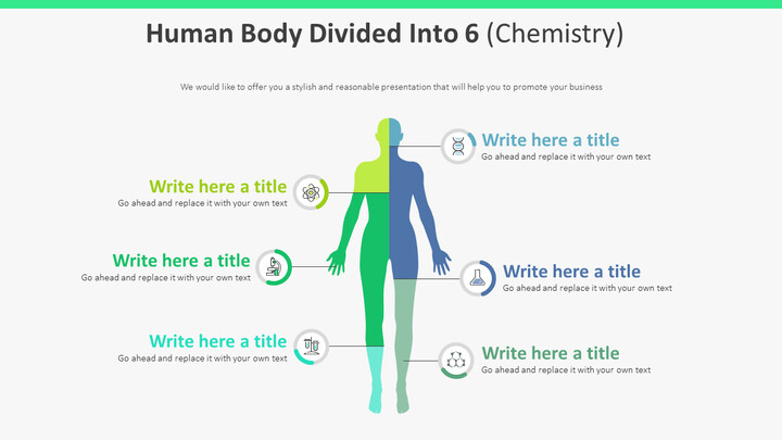 Human Body Divided Into 6 Diagram (Chemistry)_01