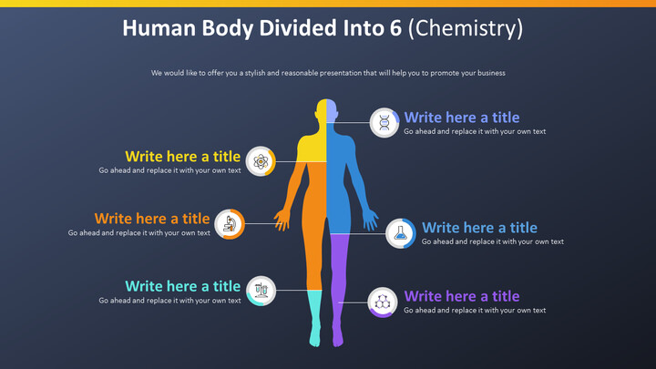 Human Body Divided Into 6 Diagram (Chemistry)_02