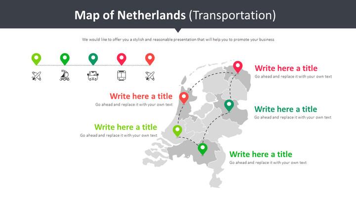Map of Netherlands Diagram (Transportation)_01