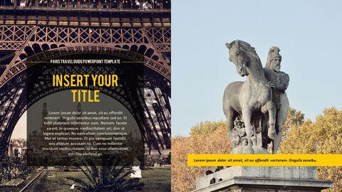 파리 여행 가이드 테마 PT 템플릿_09