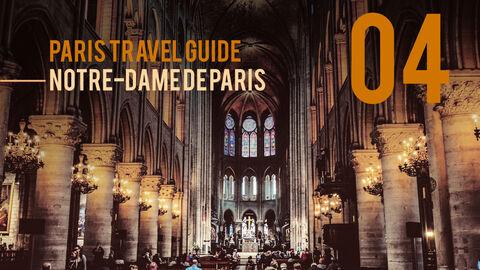 파리 여행 가이드 테마 PT 템플릿_19