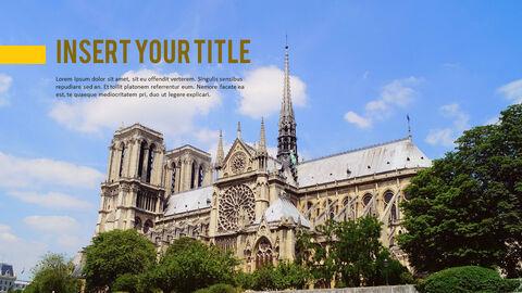 파리 여행 가이드 테마 PT 템플릿_23