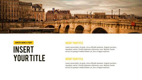 파리 여행 가이드 테마 PT 템플릿_29