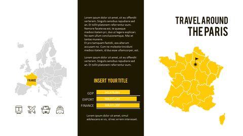 파리 여행 가이드 테마 PT 템플릿_32