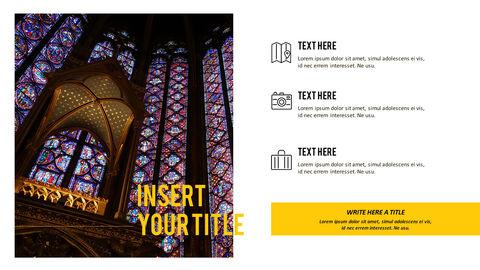 파리 여행 가이드 테마 PT 템플릿_33