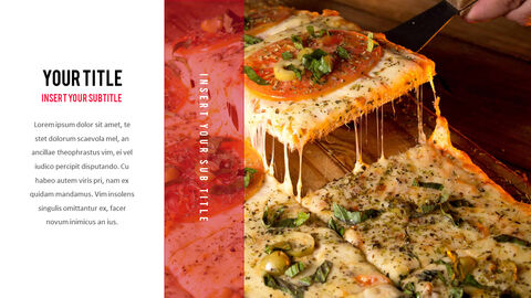피자 프레젠테이션용 PowerPoint 템플릿_05