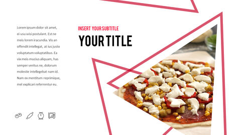 피자 프레젠테이션용 PowerPoint 템플릿_10